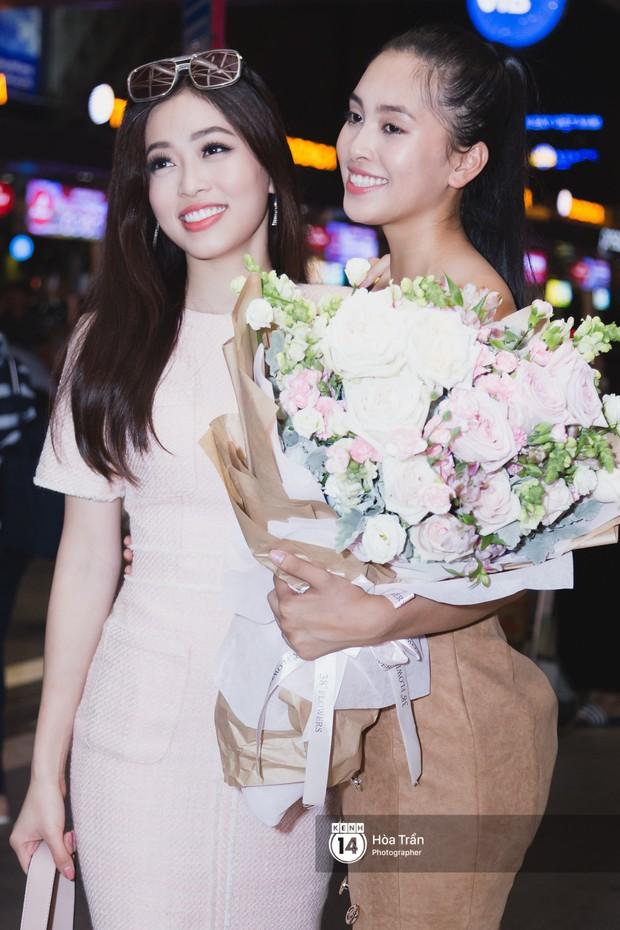 Trần Tiểu Vy trở về từ Miss World: Đỗ Mỹ Linh và Phương Nga đi đón - Ảnh 8.