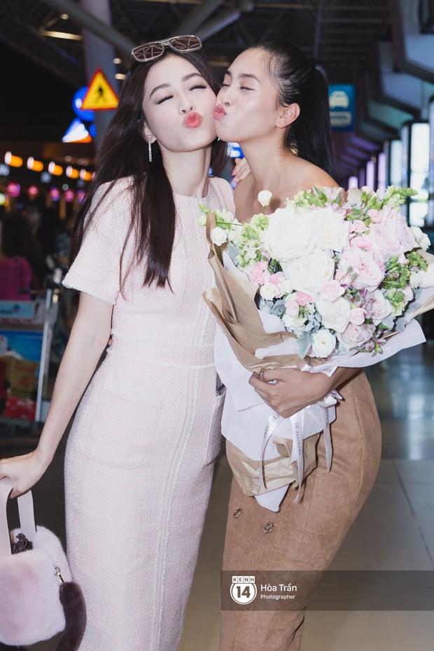 Trần Tiểu Vy trở về từ Miss World: Đỗ Mỹ Linh và Phương Nga đi đón - Ảnh 7.