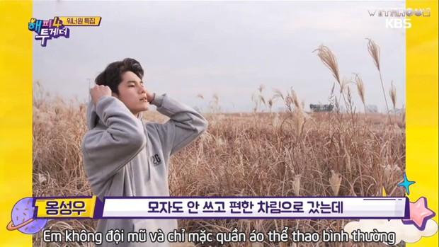 Wanna One để mặt mộc ra đường: Người bị lầm tưởng là thợ chụp ảnh, kẻ không ai thèm nhìn - Ảnh 4.