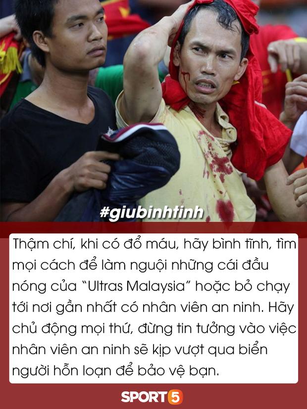 Những điều bạn cần lưu ý để tránh đổ máu khi đến Bukit Jalil cổ vũ tuyển Việt Nam đấu Malaysia - Ảnh 10.