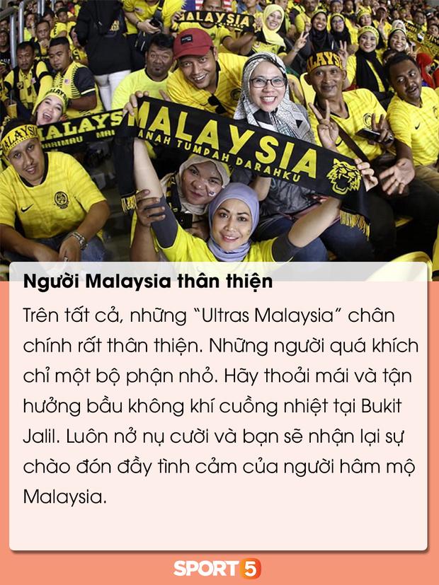 Những điều bạn cần lưu ý để tránh đổ máu khi đến Bukit Jalil cổ vũ tuyển Việt Nam đấu Malaysia - Ảnh 16.