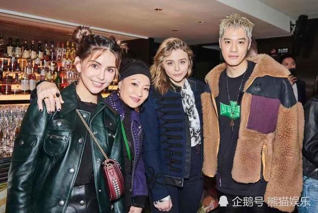 Đọ sắc cùng Chloe Moretz và tình cũ G-Dragon Kiko Mizuhara, bà xã Châu Kiệt Luân thắng thế áp đảo - Ảnh 4.