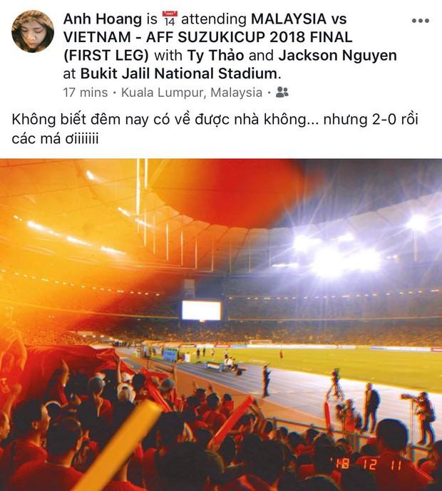 Dân mạng phấn khích tột độ khi Việt Nam ghi 2 bàn vào lưới Malaysia - Ảnh 9.