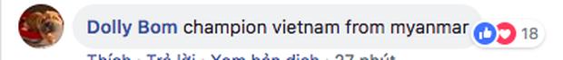 Dân mạng nước ngoài hết lòng ủng hộ và tin tưởng đội tuyển Việt Nam sẽ giành ngôi vô địch AFF Cup 2018 - Ảnh 5.