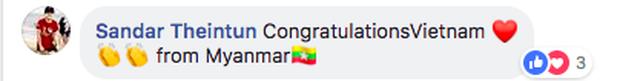 Dân mạng nước ngoài hết lòng ủng hộ và tin tưởng đội tuyển Việt Nam sẽ giành ngôi vô địch AFF Cup 2018 - Ảnh 6.