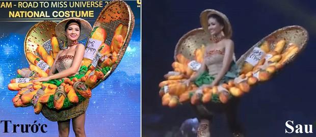 """Miss Universe 2018: Trang phục """"bánh mì"""" gặp sự cố, H'Hen Niê vẫn xử lý quá đỗi tài tình khiến chẳng ai nhận ra - Ảnh 3."""