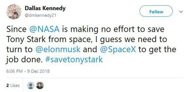 Hết kiên nhẫn với NASA, internet chuyển sang đòi Elon Musk phóng tàu vũ trụ cứu Iron Man về Trái Đất - Ảnh 2.