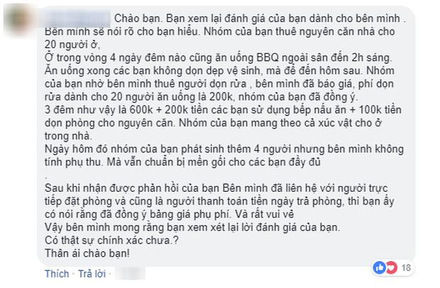 Đánh giá 1 sao vì homestay tại Đà Lạt thu phí dọn phòng 900k, khách nữ bị dân mạng tấn công và sự thật phía sau - Ảnh 3.