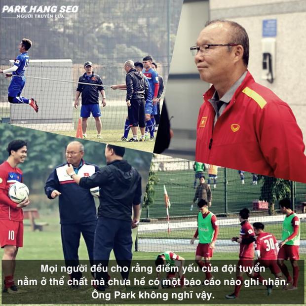 HLV Park Hang Seo tiết lộ công thức làm nên lứa cầu thủ Vàng qua bộ phim tài liệu về ông - Ảnh 1.