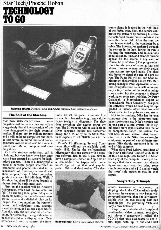 Puma hồi sinh mẫu Smartshoe 32 năm tuổi, từng là cú hit công nghệ bị lãng quên trong quá khứ - Ảnh 11.