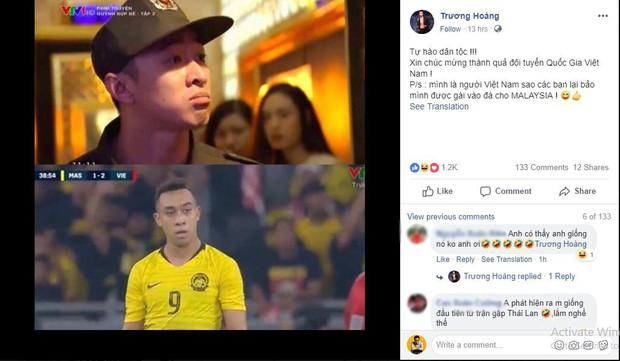 Cộng đồng mạng thích thú vì sự giống nhau khó tin giữa tiền đạo tuyển Malaysia với soái ca trong Quỳnh búp bê - Ảnh 2.