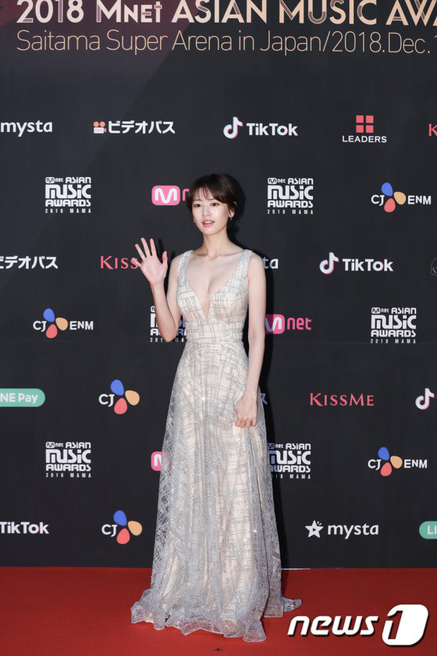 Thảm đỏ MAMA 2018 tại Nhật: Mỹ nhân kém nổi lấn át Lee Sung Kyung vì sexy bùng nổ, BTS, Park Bo Gum quá đẳng cấp - Ảnh 1.