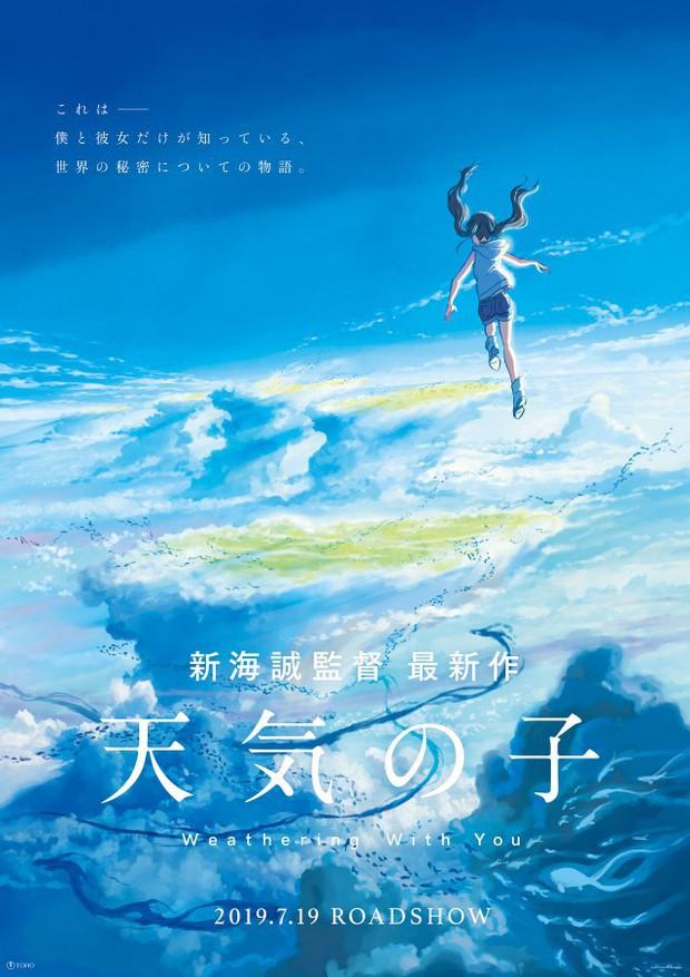 """Sau ba năm im ắng, """"Phù thủy nỗi buồn"""" Shinkai Makoto trở lại với """"Weathering with You"""" - Ảnh 1."""