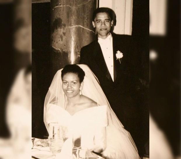 Ảnh: Khoảnh khắc ngọt ngào trong lễ cưới của các Tổng thống Mỹ - Ảnh 2.