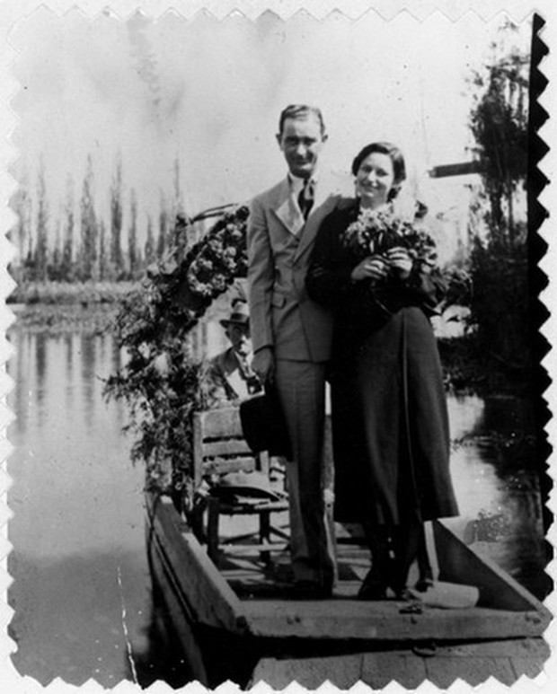 Ảnh: Khoảnh khắc ngọt ngào trong lễ cưới của các Tổng thống Mỹ - Ảnh 9.
