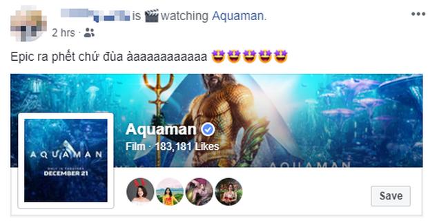 Fan Việt phát cuồng sau khi thưởng thức bom tấn siêu anh hùng Aquaman - Ảnh 1.