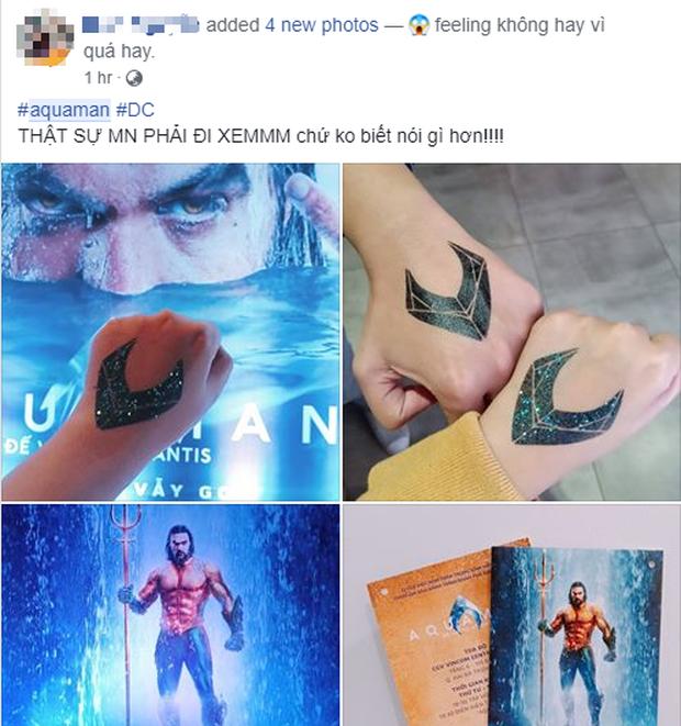 Fan Việt phát cuồng sau khi thưởng thức bom tấn siêu anh hùng Aquaman - Ảnh 4.