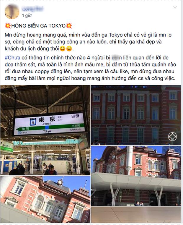 Du học sinh Việt tại Nhật Bản hoang mang tột độ trước tin một kẻ tuyên bố giết 10 người ở ga Tokyo - Ảnh 7.