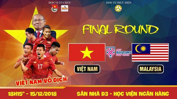 Sinh viên hàng loạt trường Đại học lớn sẵn sàng cháy hết mình cùng đội tuyển Việt Nam - Ảnh 8.