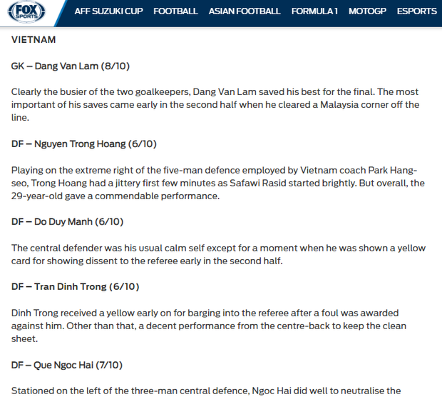 Báo Malaysia và quốc tế nói gì khi tuyển Việt Nam vô địch AFF Cup 2018? - Ảnh 12.