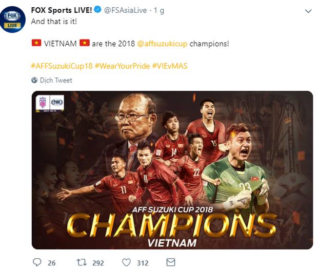 Báo Malaysia và quốc tế nói gì khi tuyển Việt Nam vô địch AFF Cup 2018? - Ảnh 7.