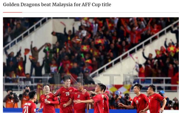 Báo Malaysia và quốc tế nói gì khi tuyển Việt Nam vô địch AFF Cup 2018? - Ảnh 1.