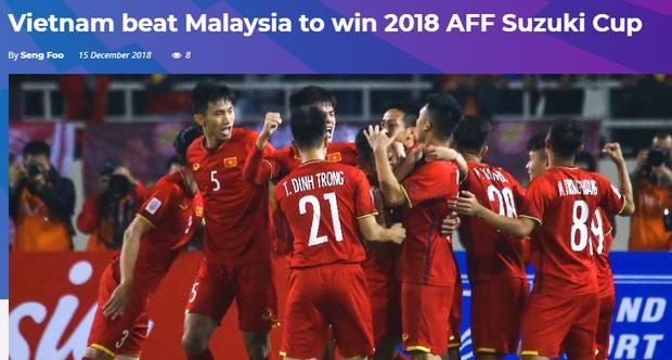 Báo Malaysia và quốc tế nói gì khi tuyển Việt Nam vô địch AFF Cup 2018? - Ảnh 3.
