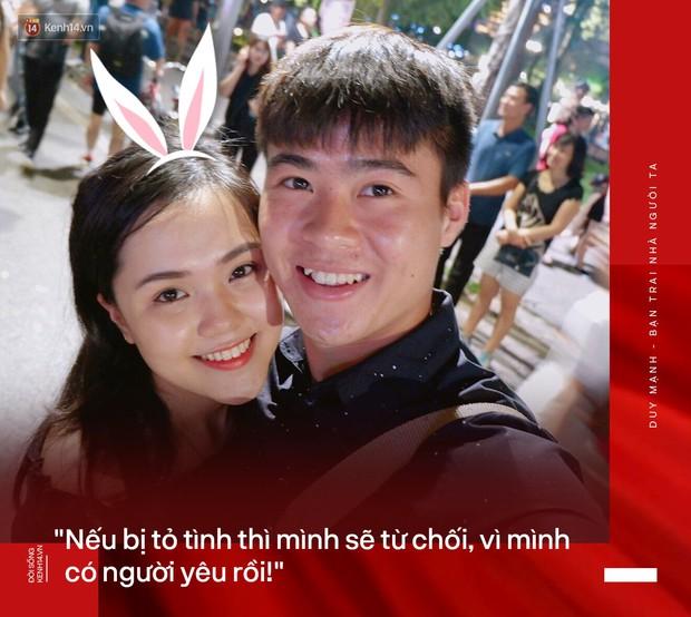 Bạn trai nhà người ta Duy Mạnh: Chiến thắng, vinh quang hay mọi điều tốt đẹp nhất đều dành tặng bạn gái - Ảnh 1.