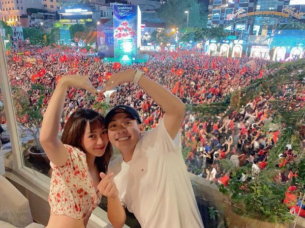 Châu Bùi, Salim, Sun HT đổ xuống phố ăn mừng Việt Nam vô địch - Ảnh 5.