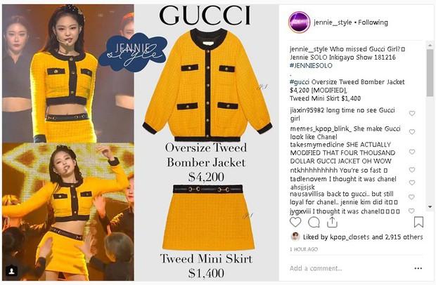 """Cắt hẳn áo gần trăm triệu cho Jennie nhưng hẳn stylist cũng không ngờ dân mạng lại phản ứng """"trái khoáy"""" thế này - Ảnh 4."""