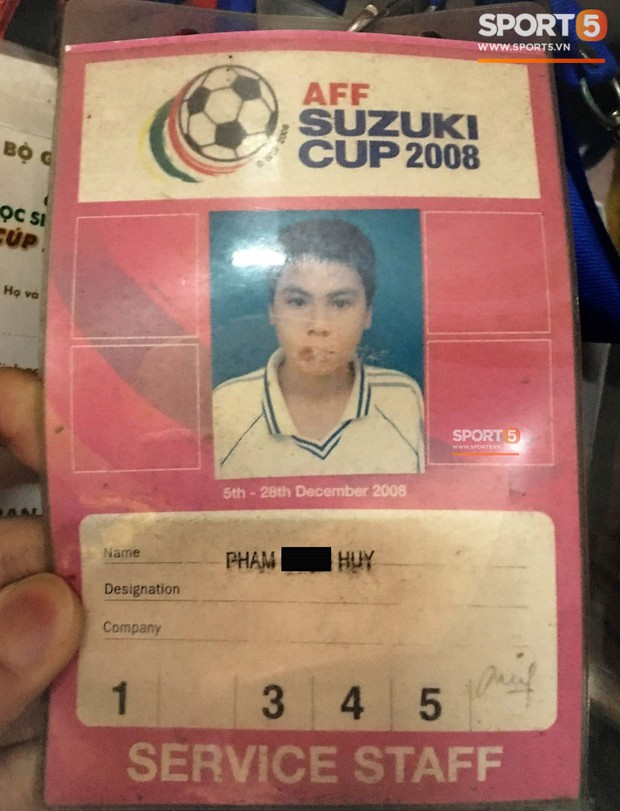 Tư liệu quý thuở Đức Huy còn làm chân nhặt bóng tại AFF Cup 2008 - Ảnh 10.