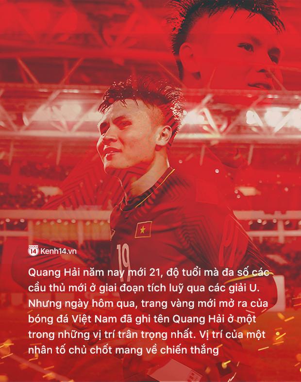 """Nguyễn Quang Hải: Cậu bé chiến binh, mới 21 tuổi đã mang sứ mệnh """"gánh team"""" - Ảnh 1."""