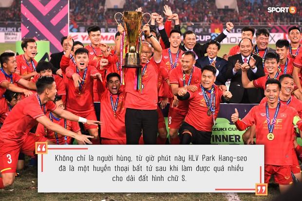 Một lần nữa, xin cảm ơn vì tất cả, thầy Park - Ảnh 3.