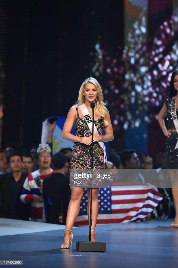 Chê HHen Niê không giỏi tiếng Anh, Hoa hậu Mỹ lại chỉ dừng chân tại Top 20 ở Miss Universe 2018 - Ảnh 2.