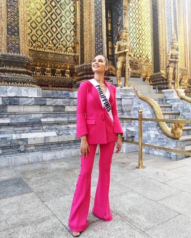 Style của tân Hoa hậu Hoàn vũ Catriona Gray: từ đầu đến cuối đều lộng lẫy như bà hoàng, phần nào đoán được trước cái kết viên mãn - Ảnh 5.