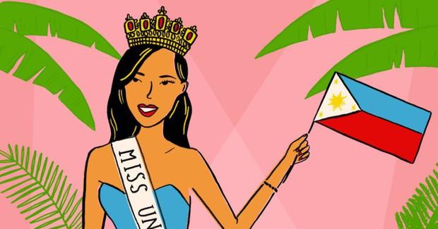 Từ Pia Wurtzbach đến Catriona Gray, đâu là nguyên nhân giúp người Philippines thăng hoa ở các đấu trường sắc đẹp quốc tế? - Ảnh 7.