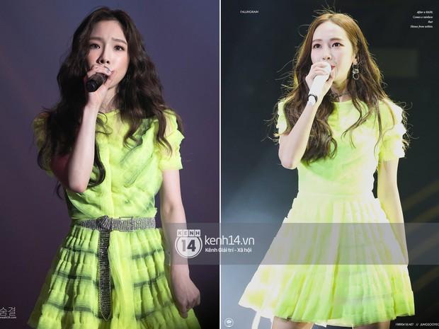 Diện chung 1 mẫu váy, Taeyeon ấn tượng hơn hẳn Jessica chỉ nhờ một chi tiết - Ảnh 8.