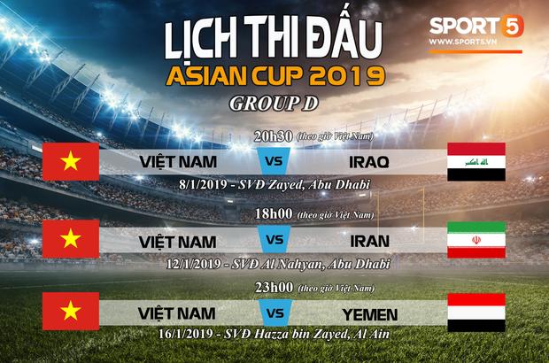 Đình Trọng, Văn Quyết và Anh Đức sẽ vắng mặt ở Asian Cup 2019 - Ảnh 3.