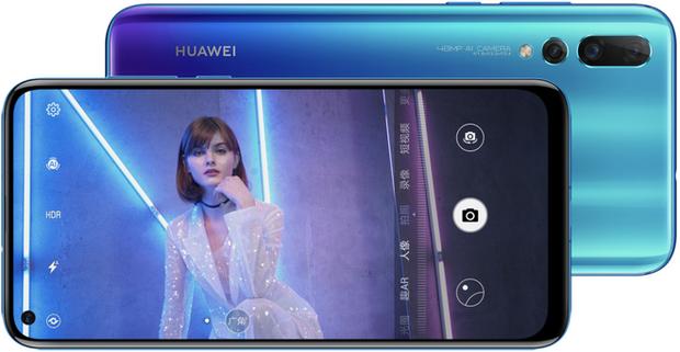 Nova 4: Smartphone màn hình đục lỗ đầu tiên của Huawei, trang bị 3 camera sau với cảm biến chính 48MP, giá tầm trung - Ảnh 1.