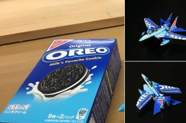 Biến vỏ hộp bánh kẹo thành mô hình tuyệt đẹp, chuyên gia cắt giấy Nhật Bản khiến Internet trầm trồ - Ảnh 3.