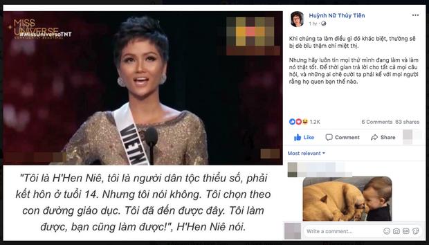 Từ lời giới thiệu bản thân của HHen Niê tại Miss Universe 2018 đến thông điệp tràn đầy niềm tin: Tôi làm được, bạn cũng làm được! - Ảnh 3.