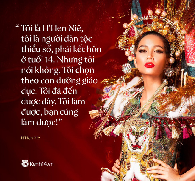 Từ lời giới thiệu bản thân của HHen Niê tại Miss Universe 2018 đến thông điệp tràn đầy niềm tin: Tôi làm được, bạn cũng làm được! - Ảnh 1.