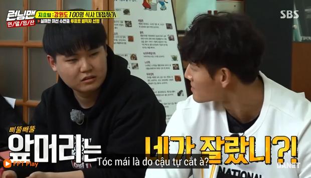 Song Ji Hyo nổi đóa vì Running Man cử 1 người không biết nấu ăn đến... phụ bếp - Ảnh 7.