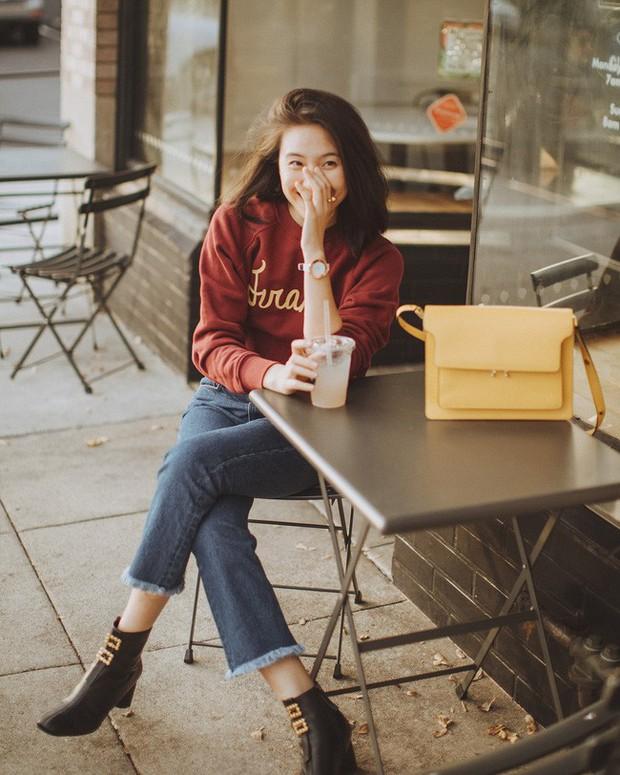 Ngắm 12 set đồ sau, các nàng sẽ nhận ra quần jeans + boots chính là cặp đôi giúp vẻ ngoài đạt 100% sành điệu - Ảnh 4.