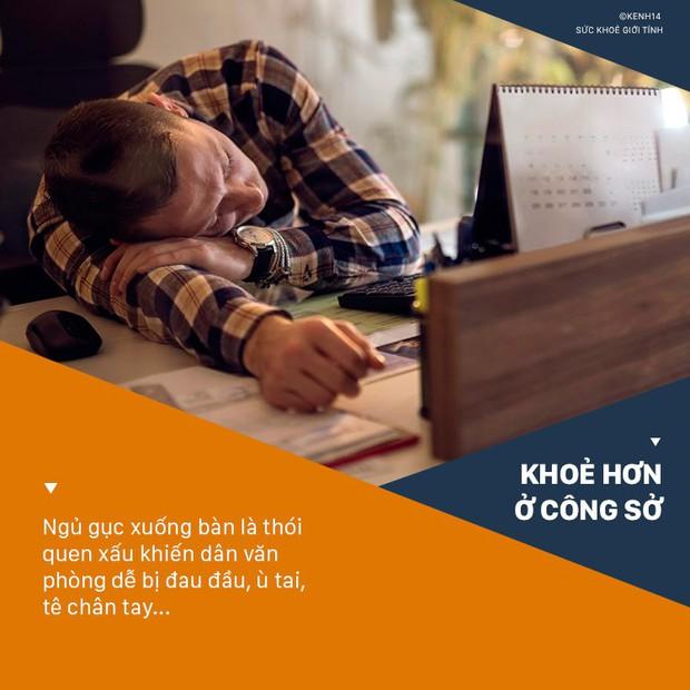 4 sai lầm khi ngủ trưa khiến sức khỏe dân văn phòng bị ảnh hưởng nghiêm trọng - Ảnh 3.