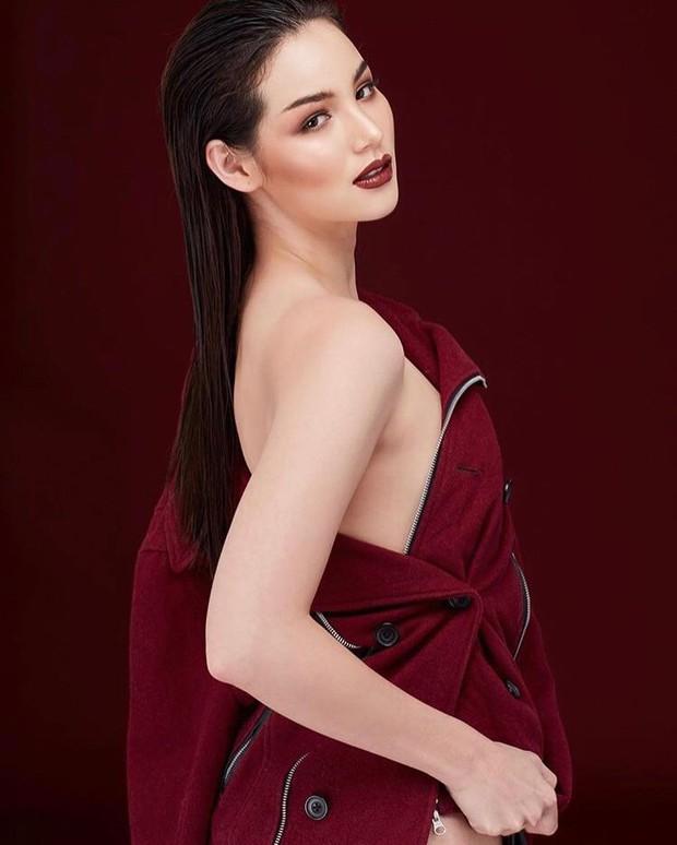 Cựu thí sinh The Face Thái cosplay tân Hoa hậu Hoàn vũ Catriona Gray: Như sao y bản gốc - Ảnh 7.