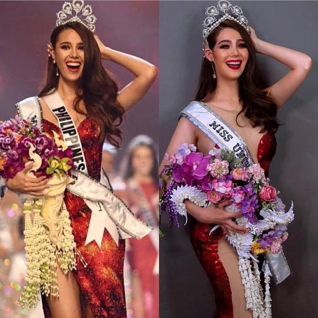 Cựu thí sinh The Face Thái cosplay tân Hoa hậu Hoàn vũ Catriona Gray: Như sao y bản gốc - Ảnh 4.