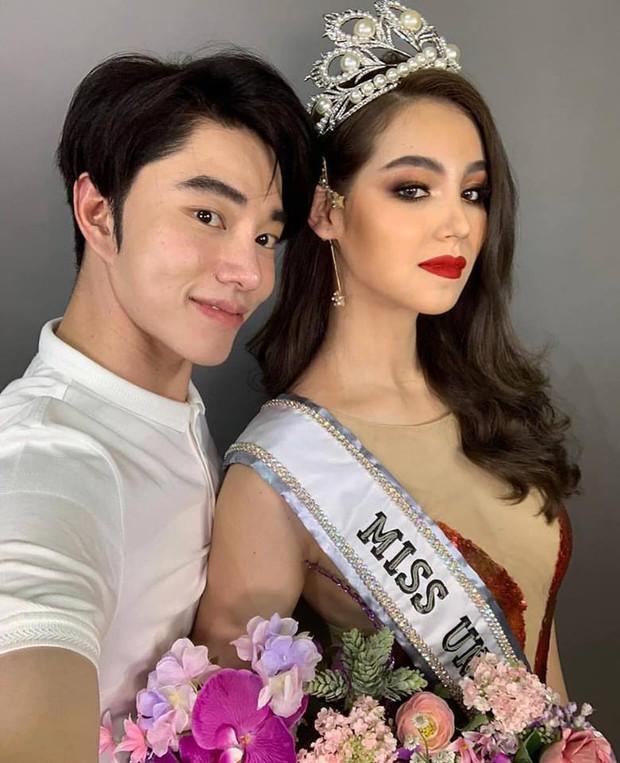 Cựu thí sinh The Face Thái cosplay tân Hoa hậu Hoàn vũ Catriona Gray: Như sao y bản gốc - Ảnh 3.