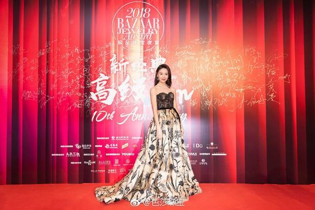 Thảm đỏ Bazaar: Đổng Khiết - Tần Lam cạnh tranh nhan sắc gay gắt bên dàn phi tần Diên Hi - Như Ý Truyện - Ảnh 3.