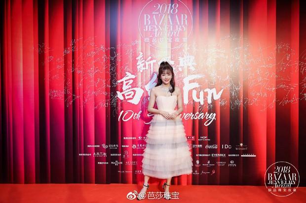 Thảm đỏ Bazaar: Đổng Khiết - Tần Lam cạnh tranh nhan sắc gay gắt bên dàn phi tần Diên Hi - Như Ý Truyện - Ảnh 5.